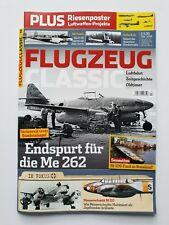 FLUGZEUG Classic 2 Feb./2019  ENDSPURT FÜR DIE ME 262  ungelesen, 1A TOP Zustand