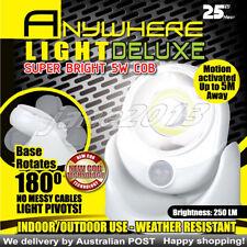5w CBO LED Motion Activated Light cordles Sensor Wireless Super Bright Light