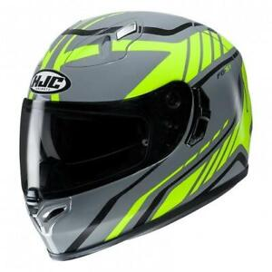 HJC FG-ST Gridan MC4 Motorcycle Helmet ***Now £100.00***