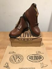 NPS SOLOVAIR Brown Leather Men's Lace Up Boots! New! Size UK9! Only £149.90!!!