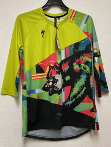 Specialized Men's Enduro Sport 3/4 Cycling Jersey - Sz L
