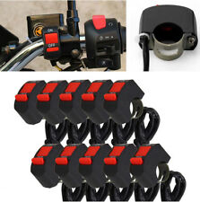 10x 7/8''Motorcycle Handlebar Scooter ATV Bike Kill Stop ON-OFF Switch DC12V/10A