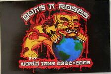 GUNS N ROSES WORLD TOUR 2002-2003 PROMO STICKER