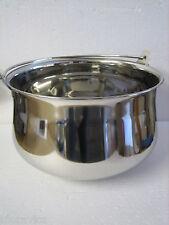 Gulasch,Gulaschkessel,Fischkessel,Edelstahl,Materiallstärke 1mm,6L+Kochlöffel