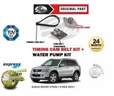 FOR SUZUKI GRAND VITARA 1.9 DDiS 2005-> GATES TIMING CAM BELT KIT + WATER PUMP