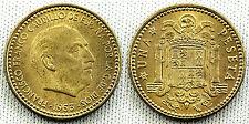 ESTADO ESPAÑOL PESETA 1953* 19-62 S/C FDC COLOR Y BRILLO ORIGINAL