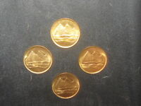 Wholesale Lot 4-18MM Egyptian Egypt Rose Gold Coin Vintage Pyramid Coins