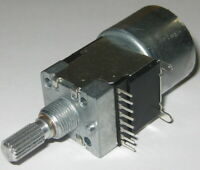 Dual Motorized 100 kOhm Linear Potentiometer - Dual Section Motor Pot 100k - 5V