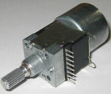 Dual Motorized 100 Kohm Linear Potentiometer Dual Section Motor Pot 100k 5v