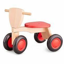 New Classic Toys - Drewniany rower czterokołowy balance czerwony