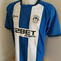 maillot  de football WIGAN  ATHLETIC ANGLETERRE   taille XL MI-FIT foot