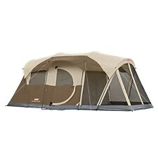 6 Person Man WeatherMaster Screened Two Room Tent, with hinged door