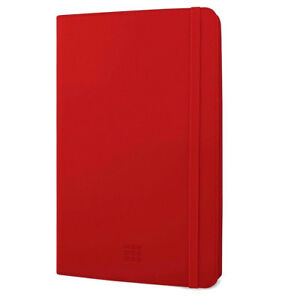 Moleskine Universal Stand Folio Case 7-8 inch Tablets fits iPad MINI 1 2 3 4 Red