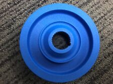 Racing Pulley Power Coated Blue single belt
