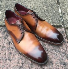 LOAKE TAN 'DRAKE' DERBY SHOES SIZE 11(uk) 45(euro).. GREAT CONDITION BARELY WORN