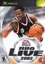 NBA Live 2002 (Microsoft Xbox, 2001)
