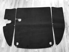 Black velours trunk carpet kit for Jaguar XK 150 FHC DHC OTS