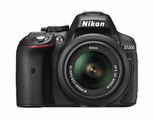 Nikon D5300 Digital SLR Camera with AF-P 18-55mm VR Lens f/3.5-5.6G VR, HD 1080p