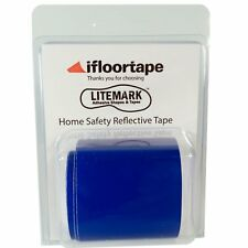 2 Inch Blue Home Safety Reflective Tape for Fence and Mailbox - 36 Inch Roll