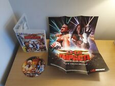 PLAYSTATION 3 - PS3 - TNA IMPACT TOTAL NONSTOP ACTION WRESTLING - WITH POSTER