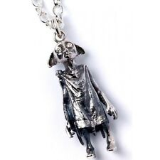 NEW Official Licensed Harry Potter St. Silver Dobby the Elf Pendant Necklace