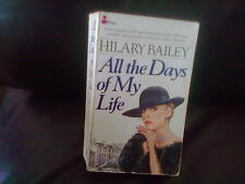 All The Days of My Life-Hilary Bailey Paperback English Genre Fiction Pan 1985