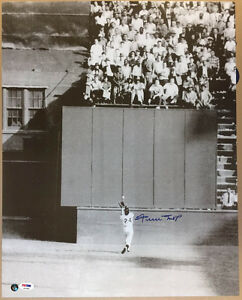 Willie Mays SIGNED 16x20 Photo San Francisco Giants PSA/DNA AUTOGRAPHED *RARE*