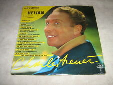 """JACQUES HELIAN 33 TOURS 25CMS 10"""" FRANCE CHARLES TRENET"""