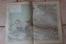 Ancienne carte Atlas universel Géographie 1919 N°13 France Sud Ouest - Hachette