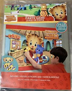 NEW Daniel Tiger's Neighborhood Birthday Party Supplies Party Game