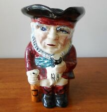Vintage Toby Jug Pitcher Scottie Shorter & Son Ltd Staffordshire England 1940's