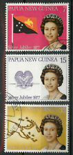 Papua New Guinea PNG 1977 Silver Jubilee set used *COMBINED SHIPPING*