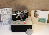 "Leitz Wetzlar - Leica IIIg Kamerakit Summitar 2/5cm ""1a Sammlerstück"" - RAR!"