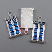 20 Or 50PCs Doctor Who Wholesale Tardis Dalek Union Jack Charms Mix CM2011-10