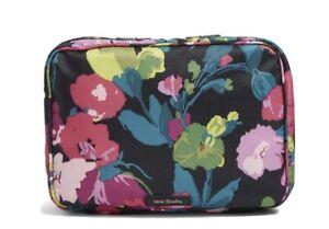 NWT Vera Bradley Lighten Up Zip-Around Cosmetic Case Travel Bag in Hilo Meadow
