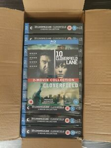 11 x 10 CLOVERFIELD LANE - CLOVERFIELD 2 MOVIE BLU-RAY BOXSET