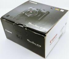 CANON PowerShot G15 12.1mp digital compact camera LIKE NEW IN BOX