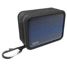 Portable iHome IBT7 Waterproof Bluetooth Stereo Speaker + Carabiner