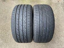 2x Landsail LS588 UHP 255 40 ZR18 99W XL Tyres 5.5-6mm Tread