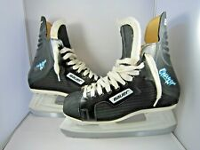 PAIR OF BAUER CHARGER 29 BLACK ICE HOCKEY ICE SKATES ~ SIZE 7D