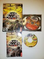 Axis & Allies PC Game Complete In Box 2004 Atari With Manual Rare 2 Copies!