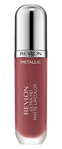 REVLON ULTRA HD METALLIC MATTE LIP COLOUR GLOSS SHADE 705 HD SHINE NEW