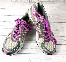 ASICS Womens Size 9.5 Gel-Trail Sensor 3 Running Shoes Lightning Raspberry Kiwi
