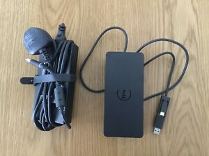 Dell D6000 USB-C/USB 3.0 Docking Station with 130W Power Supply - FREE POST!