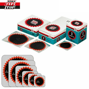 Rema Tip Top Round Tyre Inner Tube Puncture Repair Patches Agri, Truck, Car Bike