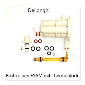 Delonghi AEG SET klein Dichtungssatz O-Ring für Brühkolben mit Thermoblock ESAM