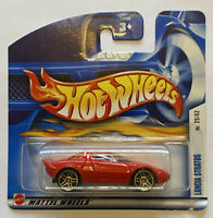 2002 Hotwheels Lancia Stratos Rally first editions European Short Card MOC!