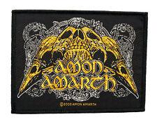 Amon Amarth - Raven Skull [Patch/Aufnäher, Gewebt] [SP2231]