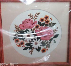 CREATIVE CIRCLE 0610 Classic Bouquet Crewel Needle Craft Eugenia Parfionow