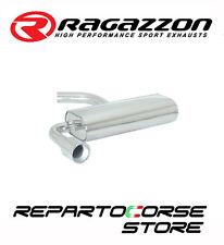 RAGAZZON SCARICO POSTERIORE SPORTIVO INOX TERMINALE TONDO 102 MM  50.0094.06